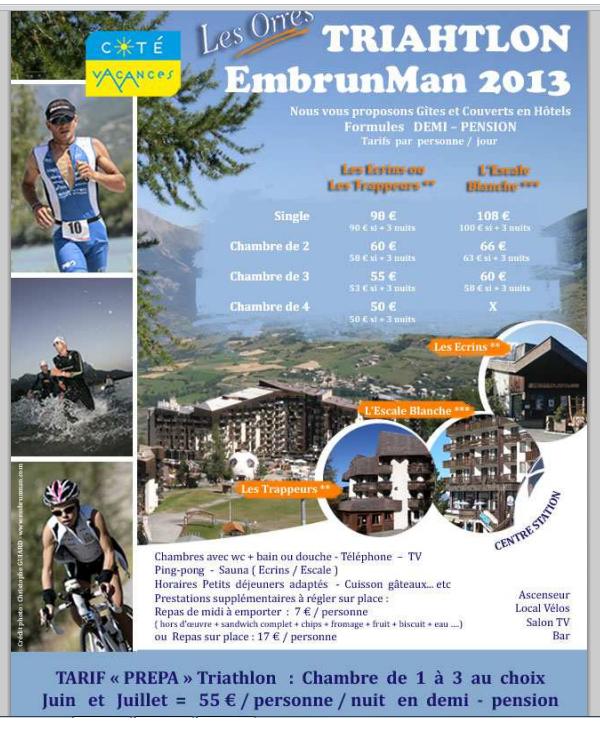 15 août 2013 EmbrunMan pour Cyrille et Sprint pour Sonia Surf (blessée), Jeff and Bob (4/6)