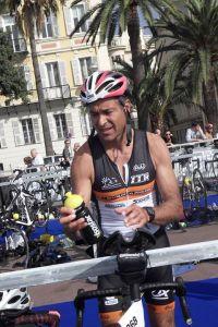 Jeff Deligeard au Triathlon M de Nice