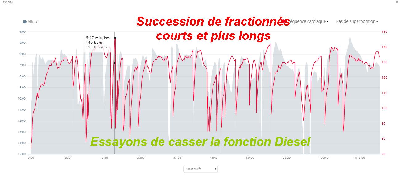 Fractionnés Longs et Courts